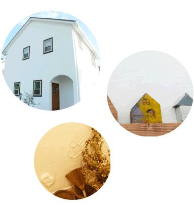 自然素材でつくる住宅